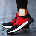 Hot Sale Casual Shoes Men Spring Autumn Waterproof Solid Lace up Man Fashion Flat With Pu