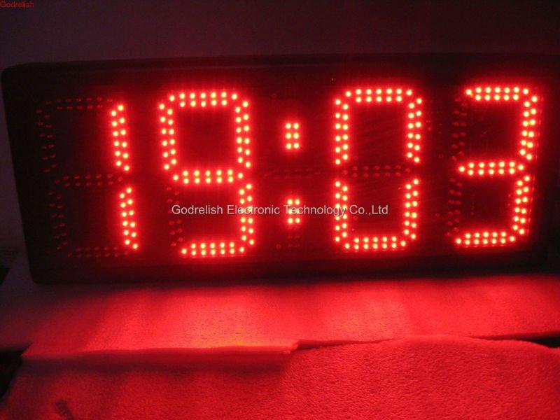 Large led digital wall clock - clock,led timer,led display,led sign,electronic product store