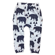 Baby Boys Cotton Pants Boy Girl Spring Long Harem Pants Kids Fashion Trousers Toddler Leggings 0-2 Yrs  2017  New Arrival 22F(China (Mainland))