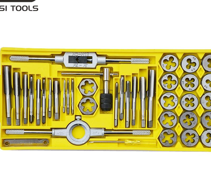 Taps Banya suite Banya wrench Hand twisted wire tapping wire tapping hand Metric combination 40 521 140
