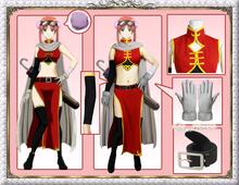Gintama Kagura Two Years Later ver cheongsam cos Chinese dress Cosplay Costume Helloween costume for women