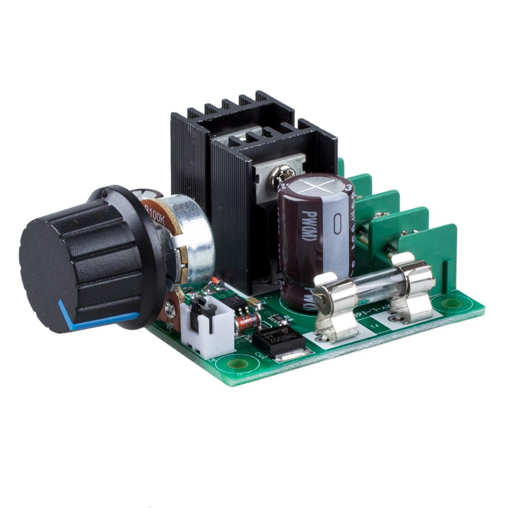 12V-40V 10A PWM DC Motor Speed Controller with Knob