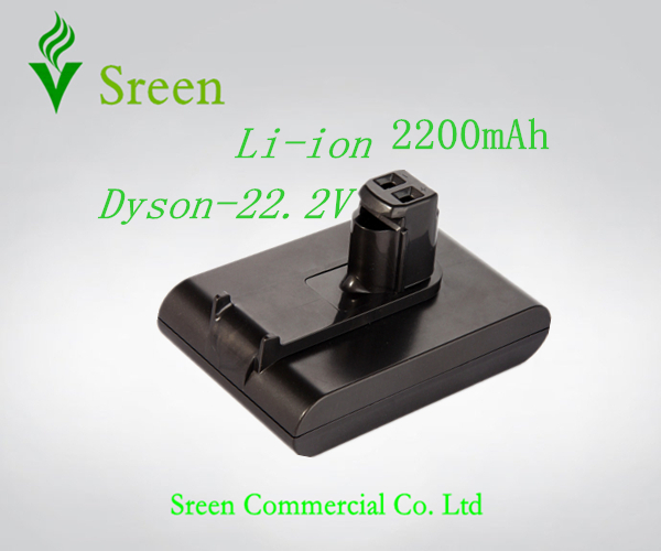 Free Shipping 2200mAh 22.2V Rechargeable Lithium Ion Replacement Battery for DYSON Vacuum Cleaner DC31 DC34 DC35 DC44 917083-01(China (Mainland))