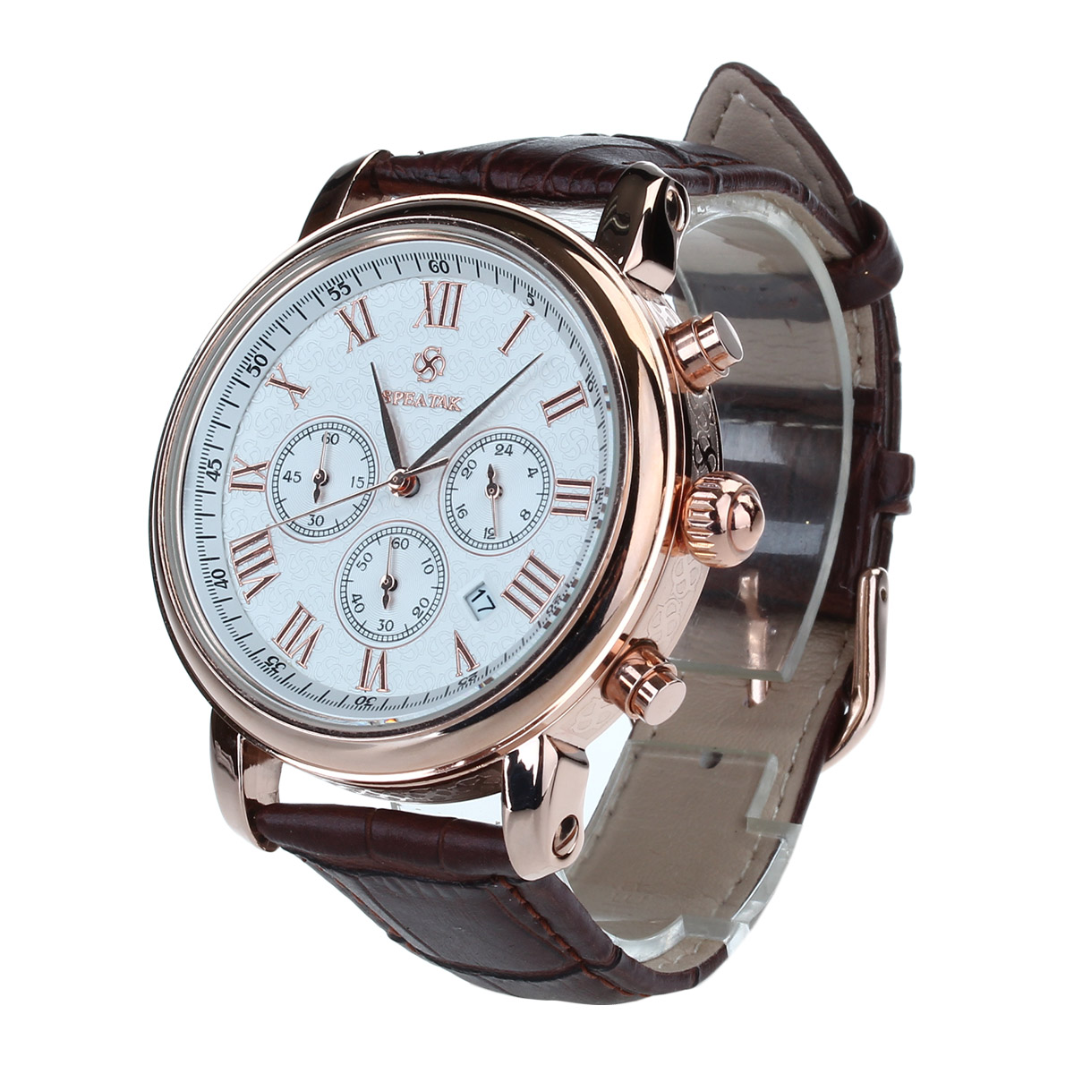 Big Round Dial Precise Quartz Movement For Accurate Time Quality Quartz Men's Watches wear well and wear comfortably(China (Mainland))
