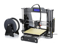 2016 Upgraded Quality High Precision Reprap Prusa i3 DIY 3d Printer kit with 1 Rolls Filament 8GB SD card and LCD for Free