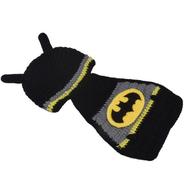 Новое Поступление Ребенка Ткань Ручной костюмы Бэтмен Сиамские Груза падения