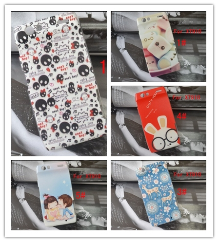 5 pattern hard painting cute skull Cover Case FOR motorala xt910 case for Motorola Droid RAZR XT910 XT912 case cover(China (Mainland))