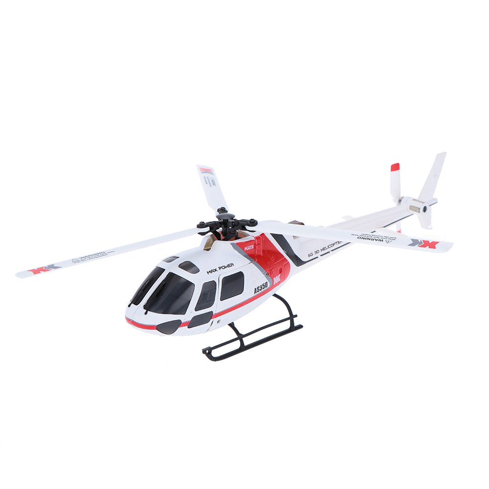 Original XK AS350 K123-B 6CH 3D 6G System Brushless Motor BNF RC Helicoptero remote control helicopter(China (Mainland))