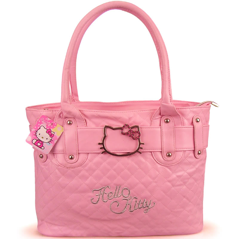 Fantastic Hello Kitty Women Messenger Bags Women Patchwork Bag Cartoon AP007in