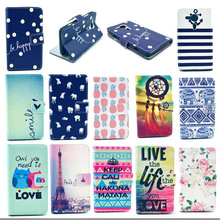 Phone bags for sony xperia sp Case Fashion Painted Colorful leather Cover for sony xperia sp M35h M35C C5303 Cases Accessories