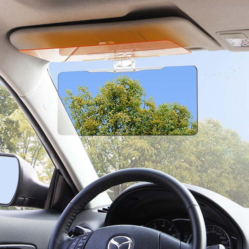 Hot selling Car Sun Visor Anti Blocker UV Fold Flip Down HD Clear View Visor(China (Mainland))