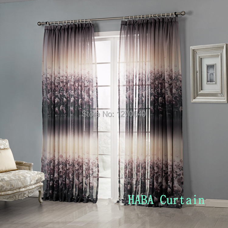 Modern curtain ideas contemporary semi sheer curtains for living room insulation patterned tulle - Modern living room curtains photos ...