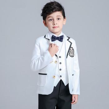 2015 hot sale fashion kids baby boys blazers suits formal black ...
