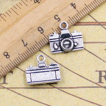 Buy 10pcs Charms Camera 15*14mm Tibetan Silver Plated Pendants Antique Jewelry Making DIY Handmade Craft pendant for $1.31 in AliExpress store