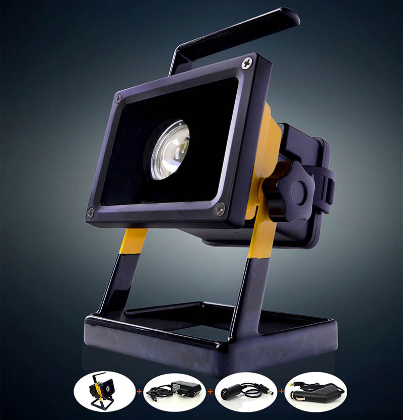 rechargeable portable 30w led flood light lamp faretti esterno faretto projecteur led exterieur. Black Bedroom Furniture Sets. Home Design Ideas