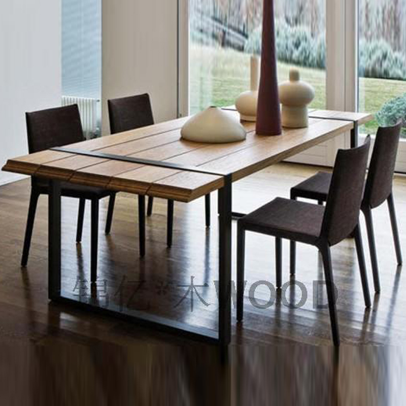 Us campagne fran aise table de pin vieux r tro style banc for Table en bois style campagne