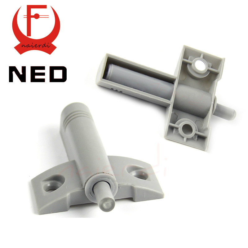 NED High Quality Wholesale 15PCS/Lot Gray White Kitchen Cabinet Door Stop Drawer Soft Quiet Close Closer Damper Buffers(China (Mainland))