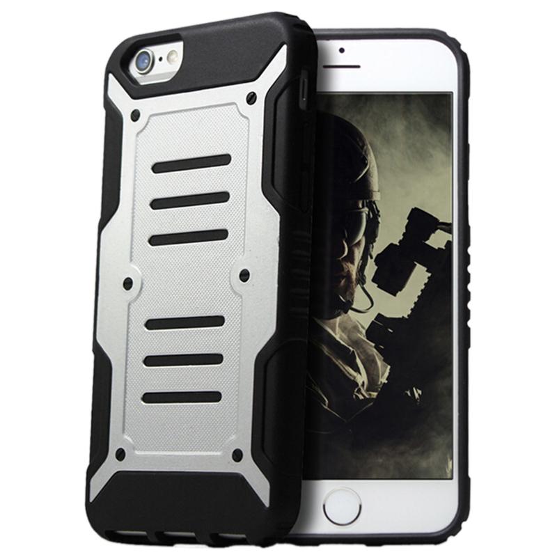 fashion hot Trade Body Armor i phone6S Combo Phone Shell Protective Sleeve DROP anti-knock case free shipping(China (Mainland))