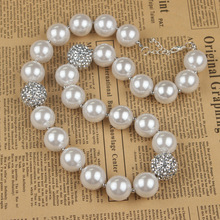 2pcs/lot Bib Necklace 2016 Mothers Day Jewelry Bead Designs Candy Chunky Bead Necklaces Diy Bubblegum Necklace  (China (Mainland))