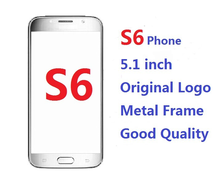 Wholesale Metal Frame HDC S6 Mobile Phone 5.1 inch Android 5.0 MTK6572 Dual Core 8MP Camera 3G WCMDA Video show(China (Mainland))