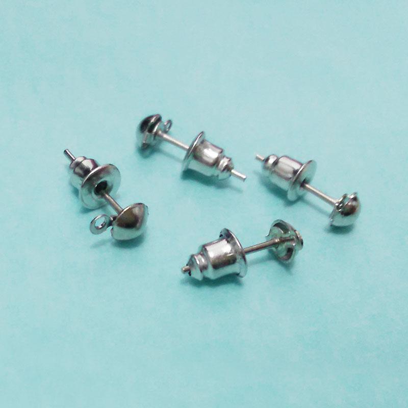 earrings findings earring clasp holder charms dangles