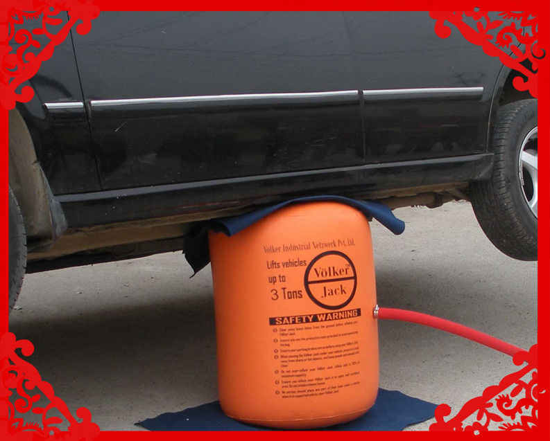 NEW ARRIVAL 3 Ton Exhaust Air Jack And Inflatable jack ( CE certificate )(China (Mainland))