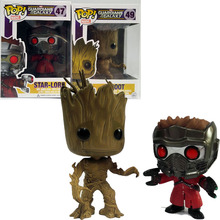 Buy Funko POP Guardians Galaxy Groot Toy 49# Tree man Star-Lord Vinyl Figure Model Toys PVC Collection Gift Kids for $6.99 in AliExpress store