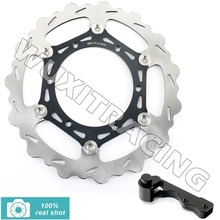 Buy Front Brake Disc Rotor Bracket for RM 125 RM250 96 97 98 99 00 01 02 03 04 05 06 07 08 09 10 11 12 DRZ S E 400 Oversize 270mm for $179.98 in AliExpress store