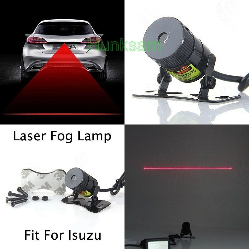 Auto Anti Collision Rear-end Auto Laser Tail 12v Parking Fog Light Blub For Isuzu(China (Mainland))