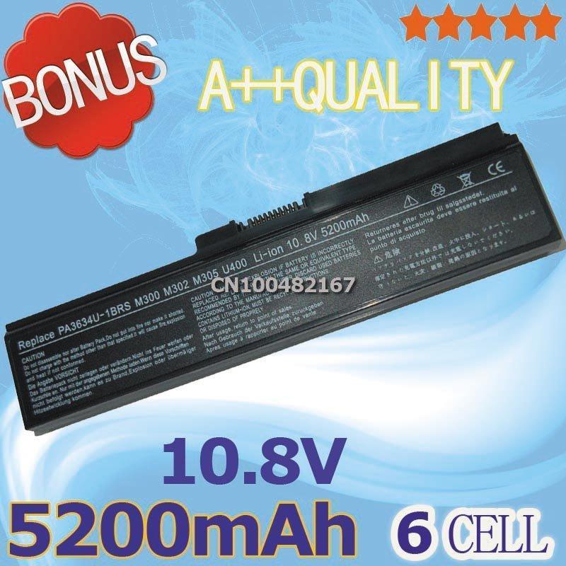 Laptop Battery For Toshiba Portege M802 M806 M810 M821 M825 T130 Satellite C640 C660 L310 L312 L322 L645 L675 M300 M301 M500<br><br>Aliexpress