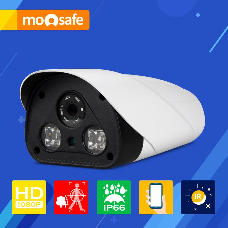 "Mosafe 1/2.5"" CMOS 2mp ip camera 1920*1080P outdoor waterproof 2 PCS IR LED Array night vision Onvif Surveillance Cameras(China (Mainland))"