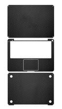 kohlefaser aufkleber voller Textur Haut für apple macbook pro 13 nicht Netzhaut ganzkörper elegante tasche abziehbild schützende schwarze aufkleber(China (Mainland))