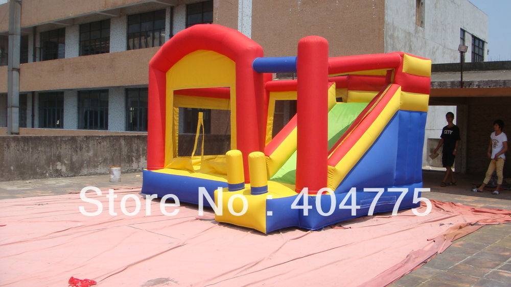2013 hot sale inflatable bounce slide moonwalk jumper with size 4mLx3.6mWx2.7mH+1 CE/UL blower+free shipping(China (Mainland))