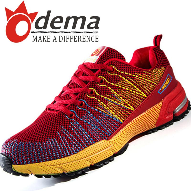 Здесь можно купить  ODEMA Men Casual Sneakers 2015 Autumn New Breathable Mesh Running Shoes Men