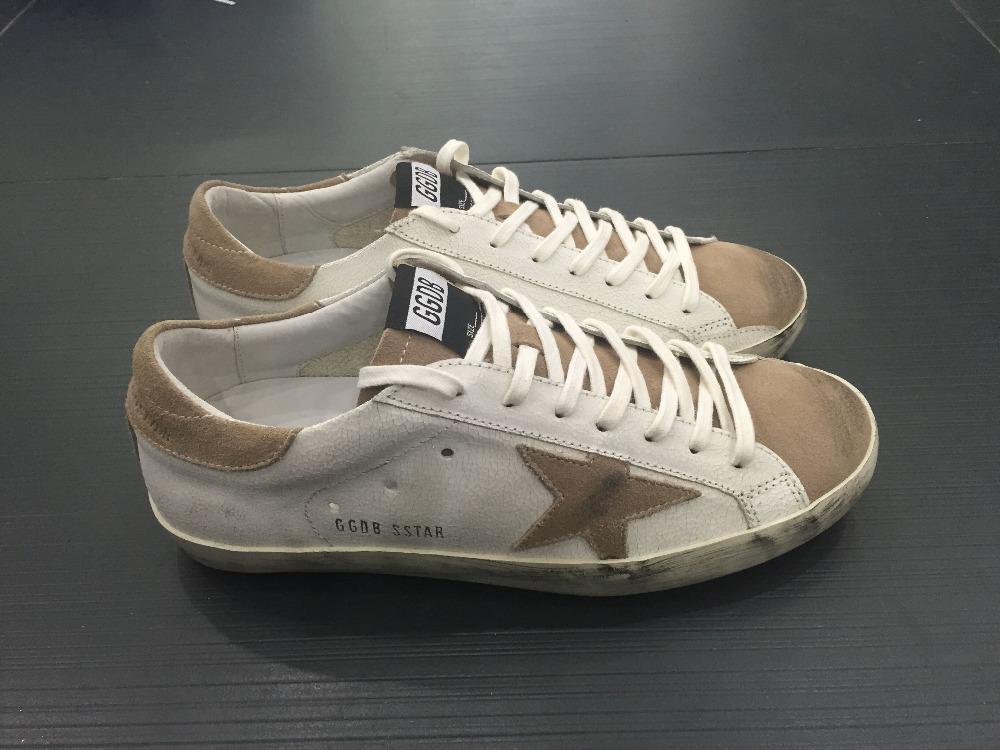 Здесь можно купить  Italia deluxe donne di modo di marca uomini golden goose ggdb scarpe casual shoes genuine leather men