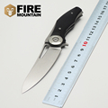 BMT Tactical Dark V Folding Blade Knife Wild D2 Blade G10 Handle Flipper Knife Survival Camping