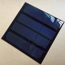 3W 6V Solar Cell Module Monocrystalline Solar Panel For 3.6V Battery Charger 145*145*3MM Diy Solar Charger Education Study kits