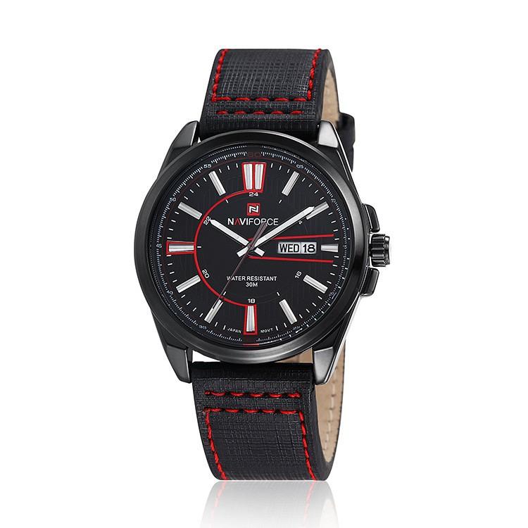 Relogio Masculino NAVIFORCE Brand Men Military Sport Watch Auto Date Casual Fashion Montre Homme Waterproof Leather Quartz Watch