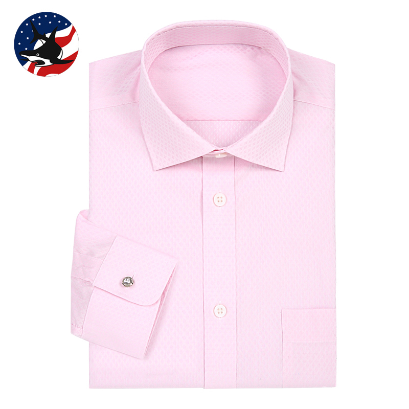 100% Cotton Breathable Rhinestone Button Shirt for Men Superior Quality Tuxedo Shirt for Party Big Size Pink Formal Blouse Male(China (Mainland))