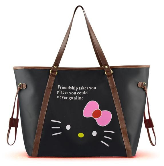 Lastest Women Clutch Bag Hello Kitty Cute Cartoon Mickey Handbag Messenger Bag