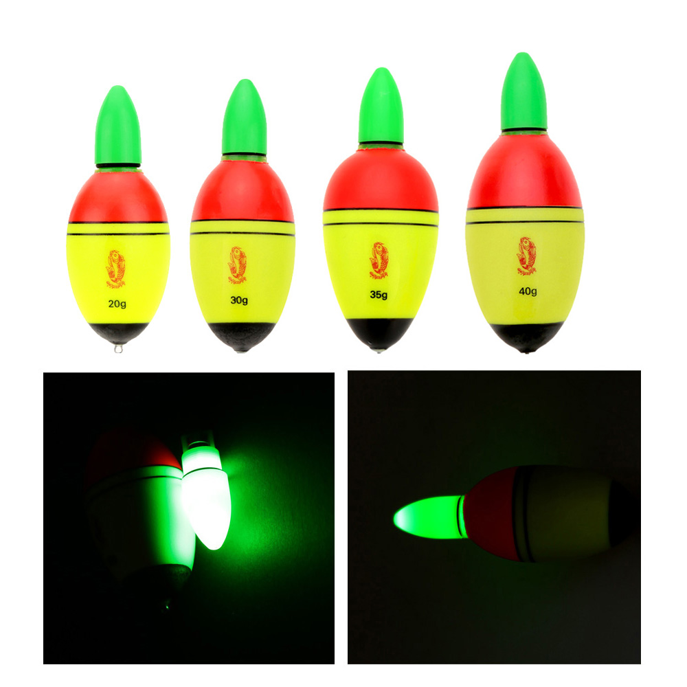 Eva electronic luminous night light fishing bobbers for Fishing bobbers bulk