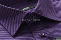 Осенние рубашку, знаменитый роскошный бренд рубашка, 100% хлопок мода Повседневная рубашка, рубашка белая с длинным рукавом мужчины