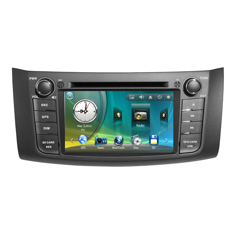 """7"""" Car Radio DVD GPS Navigation Central Multimedia for Nissan Sylphy 2012 SD USB RDS Analog TV Phonebook Bluetooth Handsfree(China (Mainland))"""