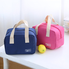 2016 new thermo lunch bag cooler insulated lunch bags for women kids thermal bag lunchbox food picnic bag handbag tote 4 color