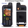 Original Waterproof phone Mobile CDMA Power Bank GSM Senior old man IP68 Rugged shockproof cell phone