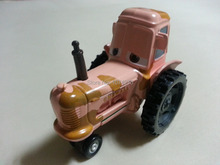 Pixar Cars Tractor Metal Diecast Toy Car 1:55 Loose Brand New In Stock & Free Shipping(China (Mainland))