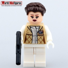 Single Sale Star Wars Minifigures Darth Revan Yoda Obi Wan Han Solo Clones Princess Leia Classic figures Best Legoelieds toys(China (Mainland))