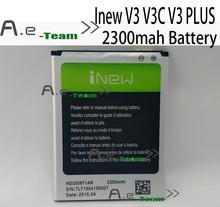 Inew V3 батарея 100% оригинал высокое качество 2300 мАч большой емкости литий-ионная батарея аккумулятор для iNew v3, v3c, V3 плюс смартфон