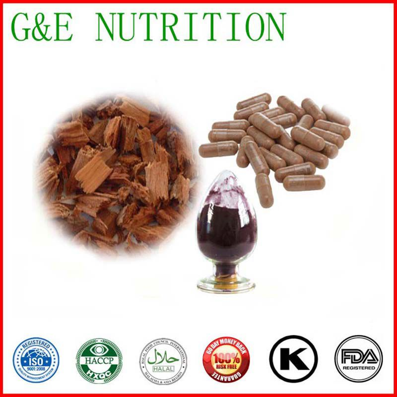 GMP Factory Supply For Man Enhancement Yohimbe Bark Extracts  Capsules 500mg x 500pcs