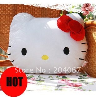 hello kitty pillows 2014 gift cushion hot sale toys 35cm size free shipping high quality plush toys NEW design  p529